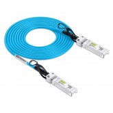SFP+ DAC Twinax Cable, SFP+ Direct Attach Copper Cable, Blue, Passive, 30AWG, 0.5~3 meter