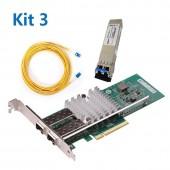[WG-X520-DA2 CNA] +  [SFP+ LR]+ [Patch Cord 10Meters]  Kit3#