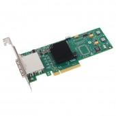 6Gb/s External PCI Express SAS/SATA HBA, compatible for LSI 9200-8E